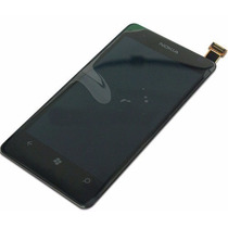 Pantalla Completa Lcd Display + Touch Nokia Lumia 505 Nueva!