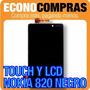 Pantalla Lcd Y Touch Nokia 820 Color Negro 100% Nuevo!!!!!!!