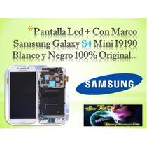 Display Lcd Con Marco Samsung Galaxy S4 Mini I9190 Original