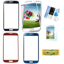 Cristal Touch Galaxy S4 Negro Y Blanco Herramienta Gratis