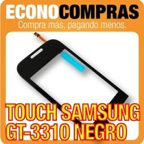 Pantalla Touch Para Samsung Gt-3310 Color Negro 100%nuevo!!!