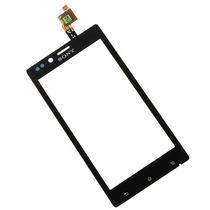 Touch Screen Digitalizador Xperia J St26 Planetaiphone