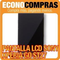 Pantalla Lcd Sony Xperia Go St27 St27a Display 100% Nuevo!!!