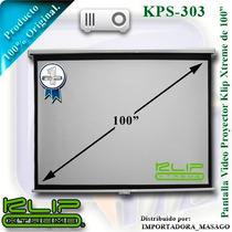 Pantalla Video Proyeccion 100 Klip Xtreme Kps-303 Manual