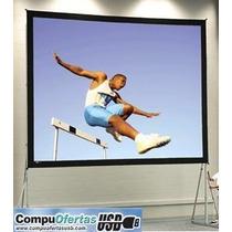 Pantalla Gigante Desarmable Para Video Proyector En Oferta!