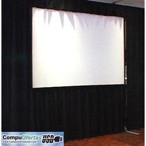 Pantalla Gigante De Proyector Video Proyeccion Back & Front.