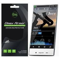 [6-pack] Dmax Armor- Sharp Aquos Crystal Protector De Pantal