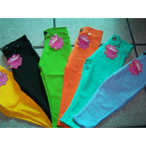 Leggins, Pantolonsitos Para Nilñas Y Bebes Pantalon Ajustabl
