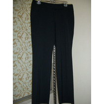 Pantalon D Vestir Negro Loft By Ann Taylor P/dama Talla 6-32