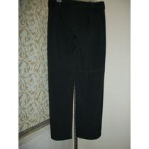 Pantalon De Vestir Negro Studio Para Dama Talla 12-38