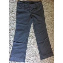 Limpia De Closet Pantalón Dama Gris Talla M (5-7) Op4