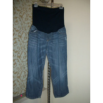 Pantalon De Mezclilla Liz Claiborne De Maternidad Dama 4-30