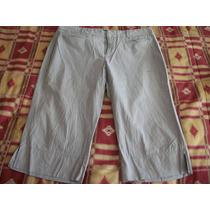 Pantalon Capri Casual D Rayas Dockers Para Dama Talla 14-40
