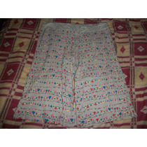 Falda-pantalon C/lindo Estampado Dear Dama Talla M-34 Nuevo