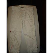 Pantalón Para Niña Pesquero, Talla 10, Precioso !