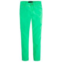 Pantalón De Color Verde Mayoral / Nukutavake Para Niño