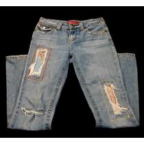 Jeans So Talla 3 Mezclilla Destroyer 54w