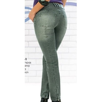 Jeans Levanta Pompis Magic Modelador Stretch Y Tallas Extra