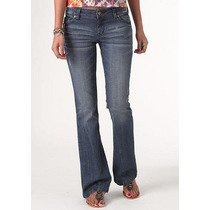 Jeans Delias Bailey Flare Talla 3-4 Short Mex 5-7 Stretch