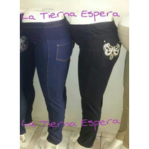 Pantalón Jeans Mezclilla Maternidad Embarazada Embarazo
