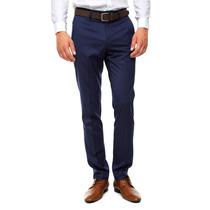 Lob - Pantalón Ajustado - Azul - Cpsy0050