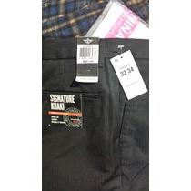 Dockers Pantalon Signature Khaki Nuevo Talla 32 X 34