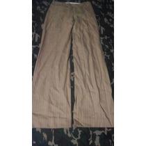 Pantalon Zara Woman 4/26-28 Chico