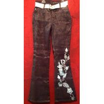 Jeans Pantalon Hannah Montana Miley Cirus Princesa Glitters.