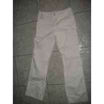 Pantalon Jeans Blancos Para Mujer Usados Talla 3