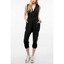 Urban Outfitters Sparkle & Fade Harem Jumpsuit S Black