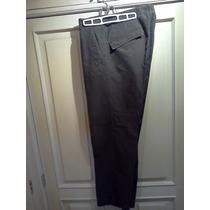 Pantalón Hugo Boss. Verde Oscuro. 100% Algodón. Original.