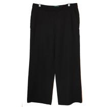 Remate Pantalon De Vestir Ralph Lauren Negro 12 Americano