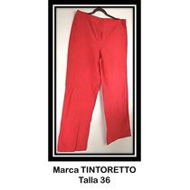 Pantalón Rojo De Vestir Para Dama