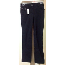 Pantalón Negro Vestir Formal Casual Stretch Jones New York