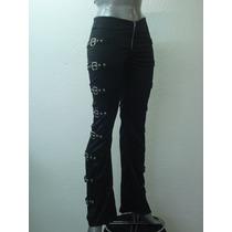 Pantalon Gotico Eretica Ropa Dark Goth Metal Punkcyber Mujer