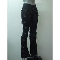 Pantalones Eretica Ropa Dark Gothic Metal Goticos Mujer