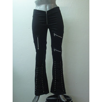 Pantalones Eretica Ropa Dark Gothic Metal Gotica Mujer