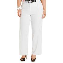 Hermoso Pantalon Casual De Lino Negro Blanco, Talla Extra Xl