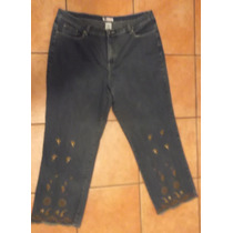 Pantalon Jeans Faded Glory T/22 44 Mexico Mezclilla Tessa