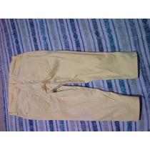 Limpia De Closet !!! Pantalón Pescador Juvenil Talla 5