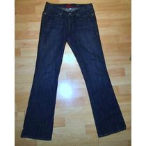 Pantalon Mezclilla Mujer Blue Cult Jean Americano
