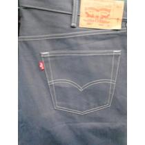 Pantalon Levis 501 Botones Talla W42 L34 Gris Original