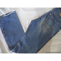 Jeans De Mezclilla Abercrombie & Fitch 32 X 32 Color Azul