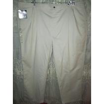 Pantalon Casual-vestir Talla 52x34 Extragrande