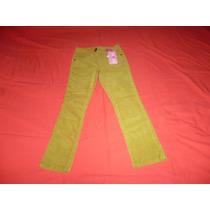 Pantalon Niña Color Dorado 6-7