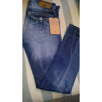 Pantalon-jeans Marca True Religion T-30 Straight, Joey,slim