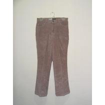 Pantalon Para Dama De Pana Marca St. John