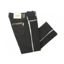 Pantalónes Con Acabado Dorado Gf Ferre
