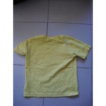 Camiseta Talla Ch Para Niño Color Amarillo Marca Nickelodeon