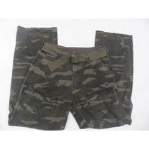 Pantalon Plugg Camuflajeado 32x32 Estilo Vintage